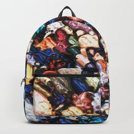 Abstract Colorful Reflections Backpack
