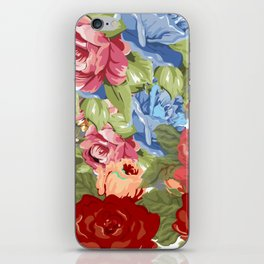 Watercolor Bouquet Tapestry iPhone Skin