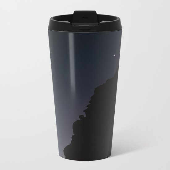 Mexico Moon III Metal Travel Mug