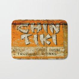 Chin Tiki Wall  Bath Mat