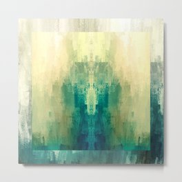 Mirrored Shape   Minimalist   Abstract   Modern   Shapes   Geometrix Metal Print