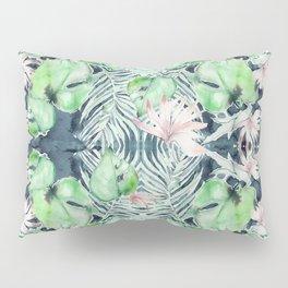 Dark Tropics Pattern by Kristen Baker Pillow Sham