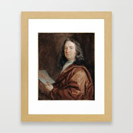 Portrait of a Physician,  Mary Beale, 1680 Framed Art Print