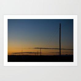 New Mexico Sunset Art Print