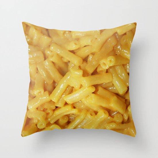 Mac&Cheese Throw Pillow