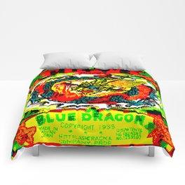 Blue Dragon Comforters