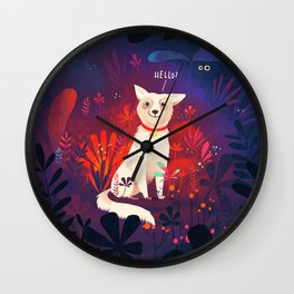 Lost Pupper Wall Clock