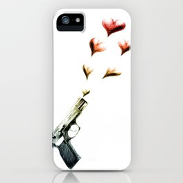 My Love Gun in Color iPhone Case