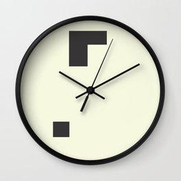 Minimal #society6 #decor #buyart Wall Clock