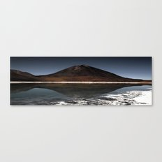 Mountain of the lake Canvas Print