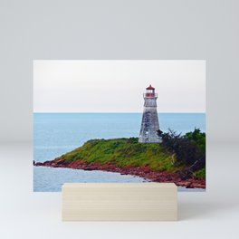 Lighthouse Cape Jourimain N-B Mini Art Print