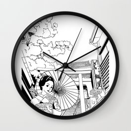 Enoshima - Kanagawa-ken Wall Clock