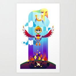 Skyward Sword Poster Art Print