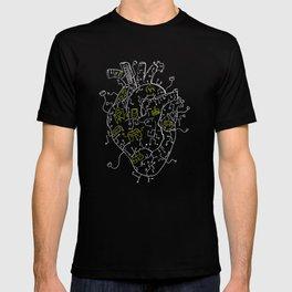 Gaming Control Tools   Heart T-shirt