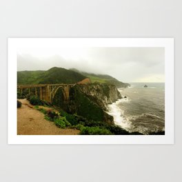 Big Sur, California Art Print