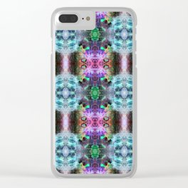 Neurotransmitted Daydreams (Pattern 2) Clear iPhone Case
