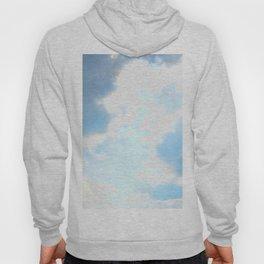 blue, cloud study Hoody