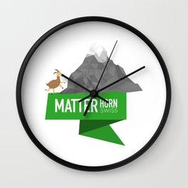 Matterhorn | Swiss Creation Wall Clock