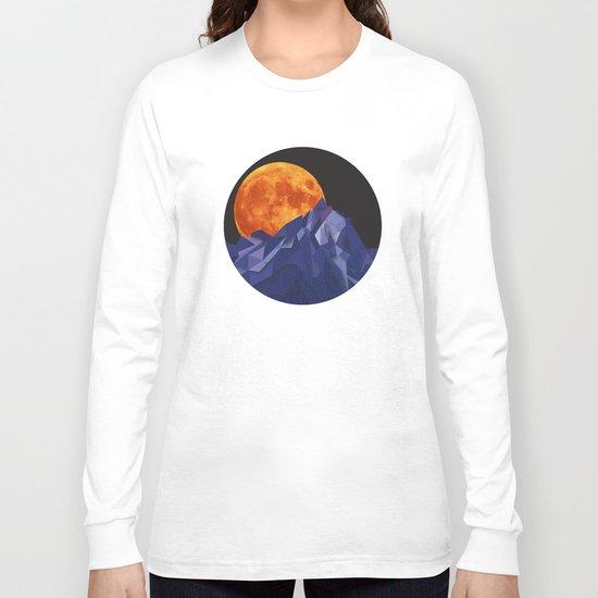 Night Mountains No. 20 Long Sleeve T-shirt
