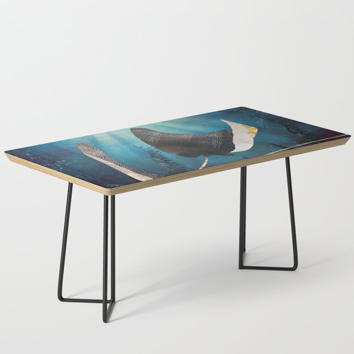 Metallic Stingray Coffee Table