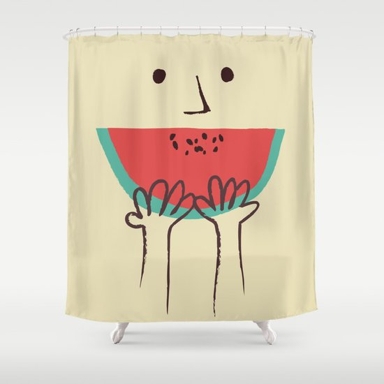 Summer smile Shower Curtain