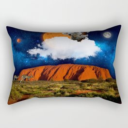 Thinking of Australia Rectangular Pillow