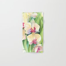 Cascading orchids Hand & Bath Towel