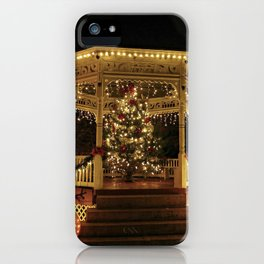 Gazebo Dressed for Christmas iPhone Case