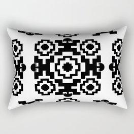 Pre-Columbian V Rectangular Pillow