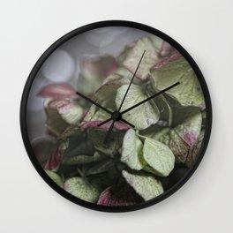 Hortensie Wall Clock