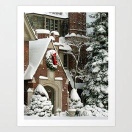 """""""Christmas Splendor"""" Art Print"""