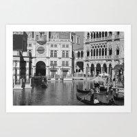 Venetian Hotel on the Strip Art Print