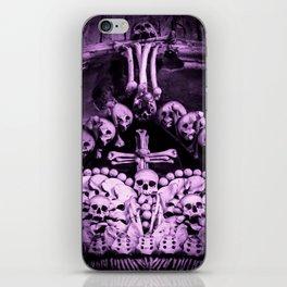 Santa Muerte Crown iPhone Skin