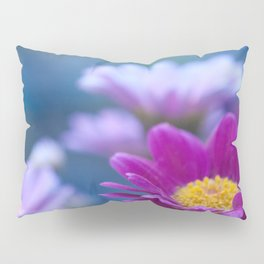 Daisy Love - Pink Marguerite Flower #1 #decor #art #society6 Pillow Sham