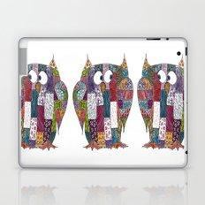 Logcabin Owl Laptop & iPad Skin