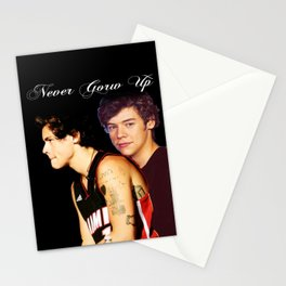 Never Grow Up Stationery Cards