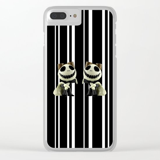 Halloween Prisoner   Jack   Christmas   Nigthmare Clear iPhone Case
