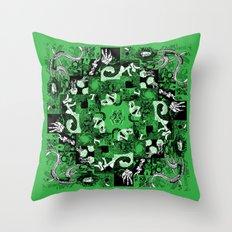 Summer Relief Throw Pillow