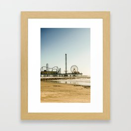 Pleasure Pier Framed Art Print