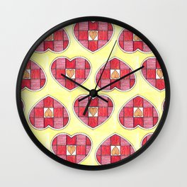 Pinstripes Wall Clock