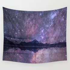 Space and time Wall Tapestry