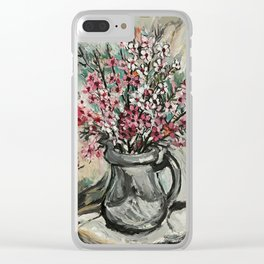 """Australian Ti Tree"" by Margaret Preston Clear iPhone Case"