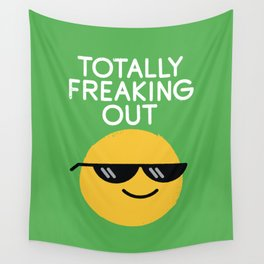 Froze Colored Glasses Wall Tapestry