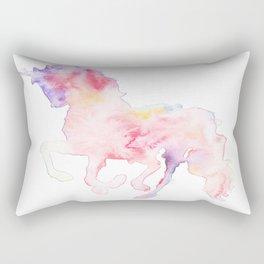 141203 Abstract Watercolor Block 79 Rectangular Pillow