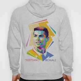 Cristiano Ronaldo In Pop Art Hoody