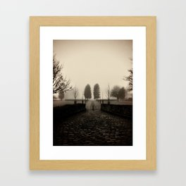 Into the future. Framed Art Print