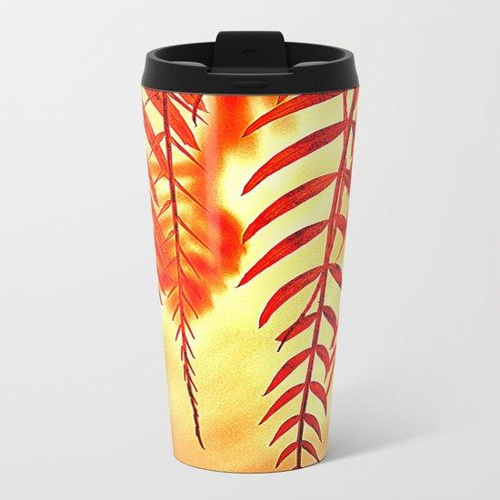 Nature willow Metal Travel Mug