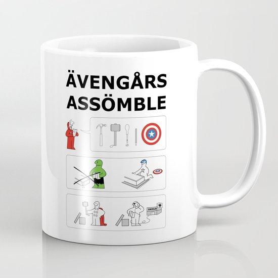 Superheroes Assembling - Colour Coffee Mug