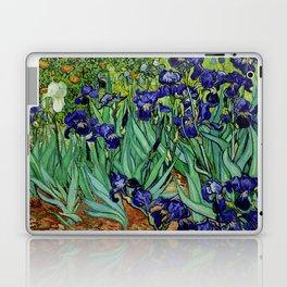 Van Gogh Purple Irises at St. Remy Laptop & iPad Skin