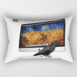 Corbeau fan de Van Gogh urban fashion culture Jacob's 1968 Paris Agency Rectangular Pillow